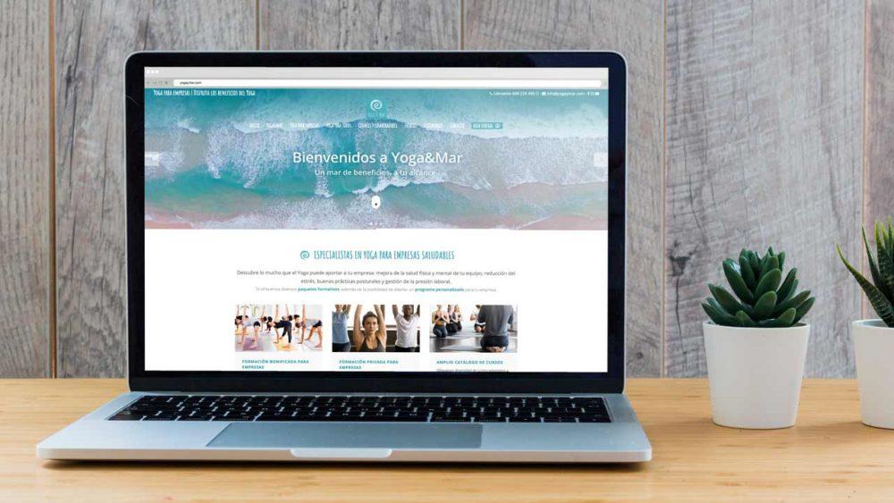 Nueva Web · Yoga & Mar | Actividades