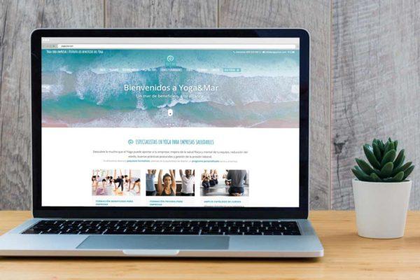 Nueva web de Yoga&Mar